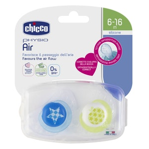 Chicco Physio Air Soother 6-16m 2pk - Boy