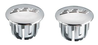 End Caps Silver 2Pcs