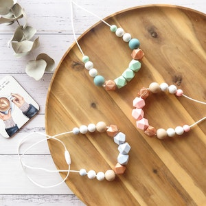 Marli & Me™ WILLOW silicone necklaces | GRITTY LUXXE collection