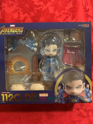 Doctor Strange: Infinity Edition Deluxe Version Nendoroid - Marvel Avenger: Infinity War incl. 3 Face Plates, Sword, Gateway, Arms & Legs - New in Box