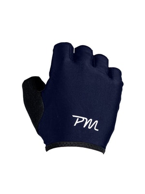 Pedal Mafia PM Short Finger Glove - Navy / White