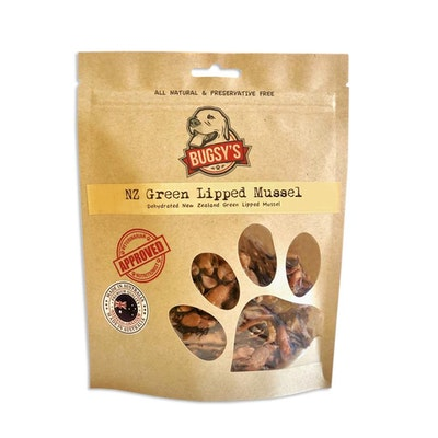 Bugsy's Pet Supplies HEALTHY SNACKS | NZ Green Lipped Mussel
