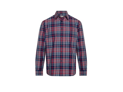 RM Williams Colin Shirt Navy/Red