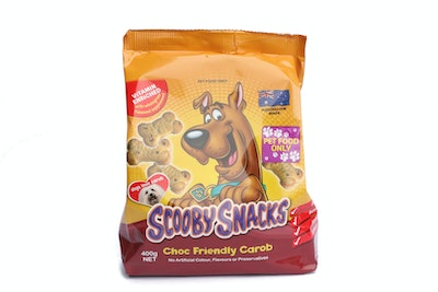 Pooch Treats Scooby snacks Carob biscuits 400g