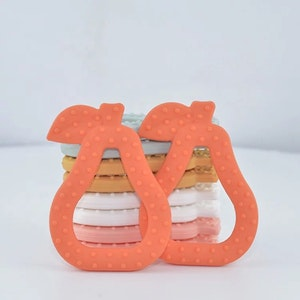 Little Gremlins Co  Pear Silicone Teether