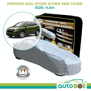 Autotecnica Premium Hail Stone Car Cover To Fit 4WD Honda HRV Window Protection