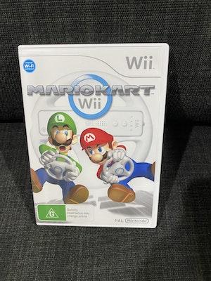 Nintendo Wii Mario Kart Wii Case ONLY