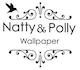 Natty & Polly Wallpaper