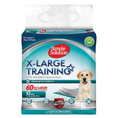 Simple Solution XL Training Pads - 10 Pack