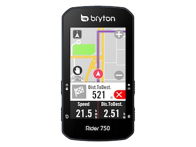 Rider 750E with Heart Rate, Cadence & Speed Sensors