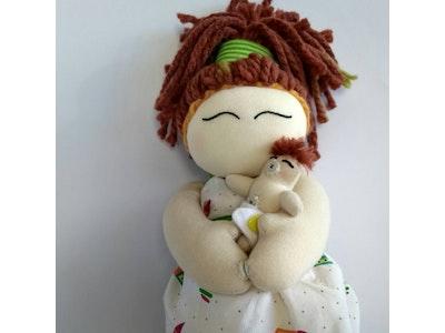Milia Simielli Premium Birthing Doll