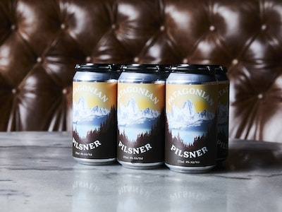 Patagonian Pilsner 6pack Cans 375ml