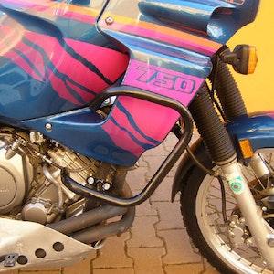 Crash Bars Engine Protectors - Yamaha XTZ 750 Super Tenere 90-03 Black