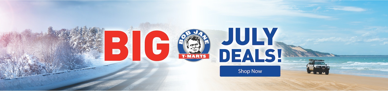 Bob Jane T-Marts July Deals