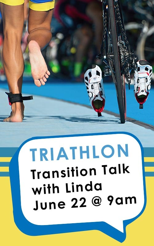 Transition Talk with Linda June 22 @ 9am