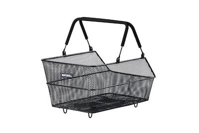 Basil Cento Rear Basket MIK Black