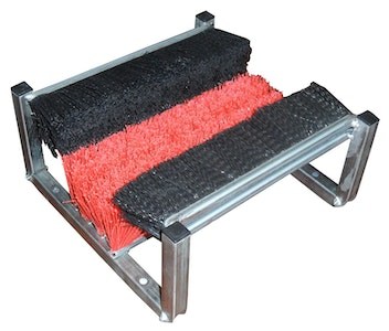AgBoss Badger Boot Cleaning Brush