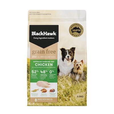 Black Hawk Grain Free Adult Chicken Dry Dog Food