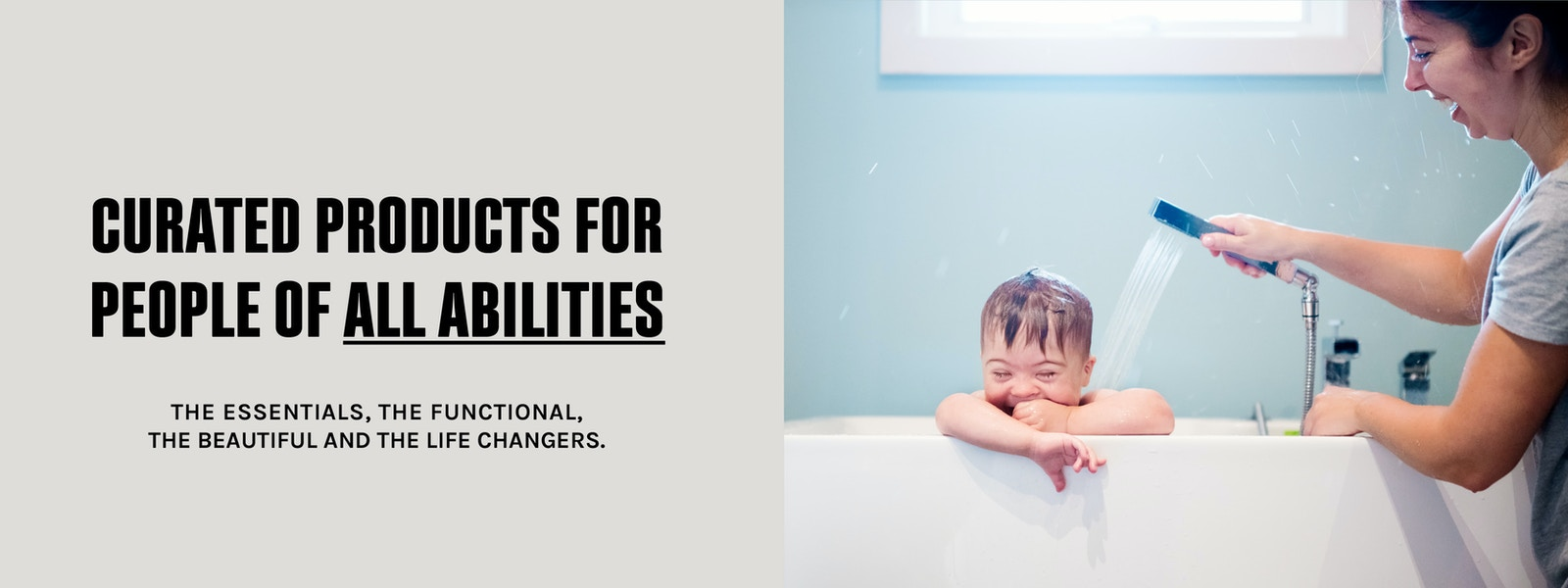 Curated products for people of all abilities