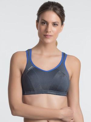 Active Multi Support Sports Bra - Grey