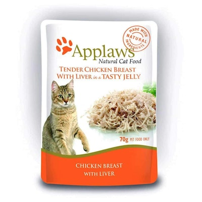 Applaws Chicken & Liver In Jelly Wet Cat Food 70G
