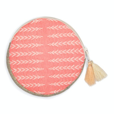 Global Sisters Shop Amelia Coin Purse - Coral