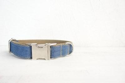 Barker & Bone Dog Collar | Denim