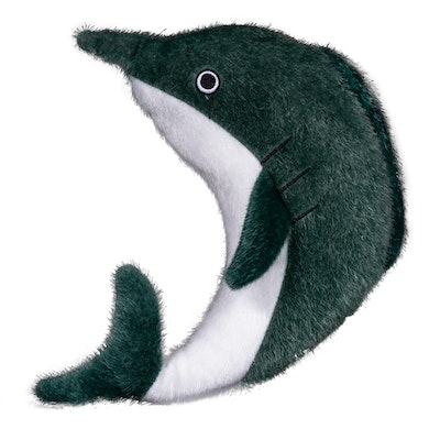 Spunky Pup Sea Plush Dolphin Dog Squeaker Toy - 2 Sizes