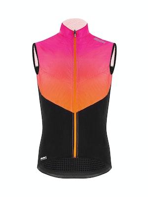 Santini Redux Genio Vest Atomic Orange