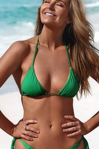 Styelle Swim Aurelia | Green Eco Bikini Top