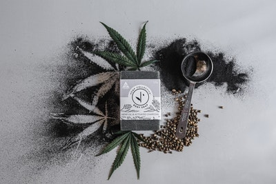 Hemp Collective Hemp Oil & Activated Charcoal Soap