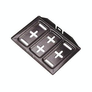 "Matson Battery Tray Small Size 11"" (300mm) x 7"" (175mm) Heavy Steel"