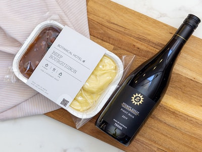 Beef Bourguignon For Two & Stumpy Gully Pinot Noir