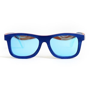 TicTasTogs Recycled skateboard Sunglasses | Beach Blue