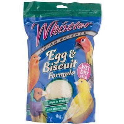 Lovitts Whistler Egg & Biscuit Bird Food Formula Vanilla - 2 Sizes