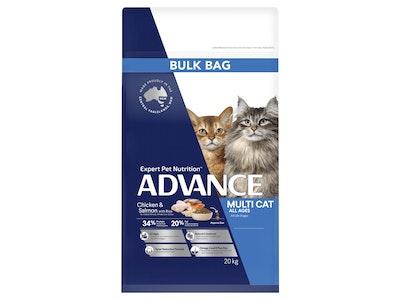 Advance Cat Adult Multicat Chicken & Salmon 20kg