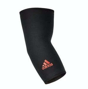 Adidas Elbow Support Compression Sleeve Joint Support Brace - Black/Red