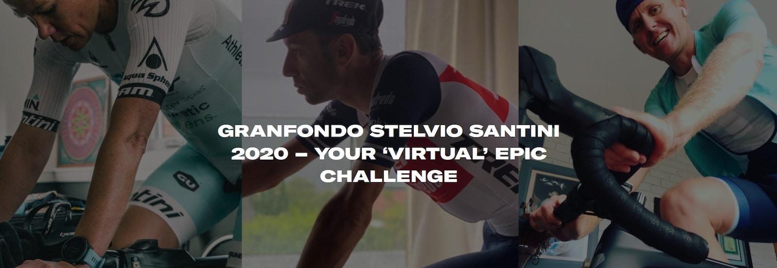 "Santini - Granfondo Stelvio Santini 2020 - Your ""Virtual"" Epic Challenge"