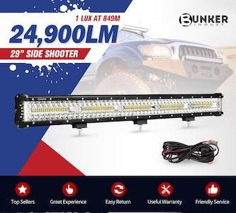 29inch CREE LED Light Bar Combo Beam Side Shooter