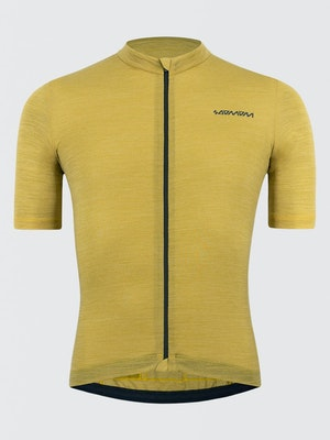 Soomom Pro Classic Merino Jersey - Mustard Yellow