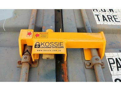 Kossie Locking Systems Shipping Container Lock Padlock Included