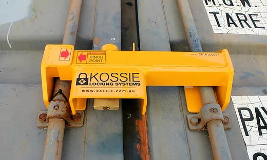 Kossie Locking Systems Shipping Container Lock Secure