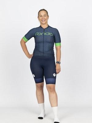 Fondo Women's Short Sleeve Cycling Jersey l Moonlight