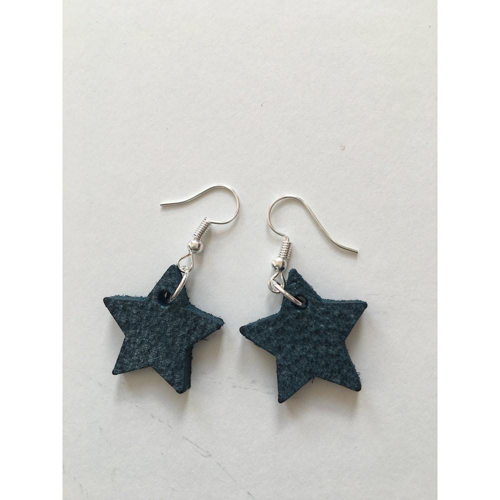 One of a Kind Club Blue Star Earrings