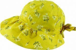 Avenel of Melbourne Cotton Blossom Bonnet - Saffron