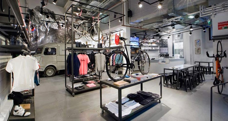 Rapha Cycle Club by Brinkworth London