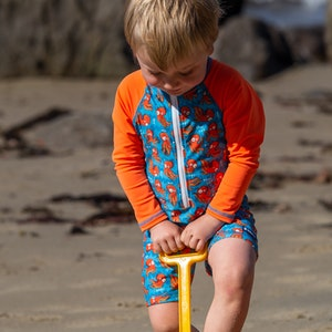 TicTasTogs Adventure Sunsuit | 'O' is for Octopus