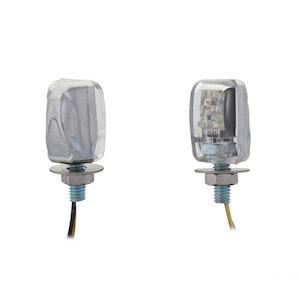 Micro LED Indicators - Chrome
