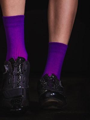 TIC CC Parcours socks – Ultra violet