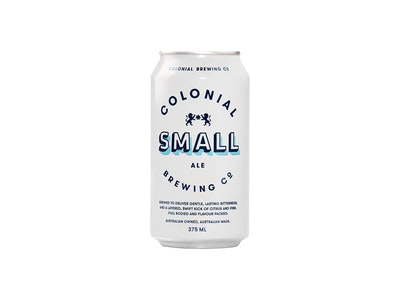 Colonial Brewing Co. Small Ale Can 375mL